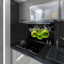 Splashback Toughened Glass Unique Modern Unique Kitchen Green Apples Any Sizes