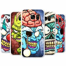 Effrayant Zombie Walking Living Dead Hard Case Housse De Téléphone Pour Samsung Téléphones