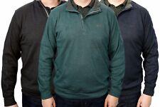 New Greg Norman Mens Lux Cotton 1/4 Zip Performance Pullover Sweatshirt MSRP $75