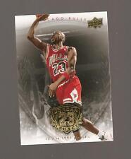 MICHAEL JORDAN UPPERDECK LEGACY GOLD 2009 CARD #51