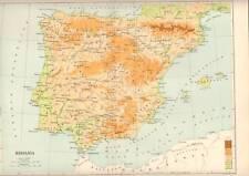 MURRAY'S CLASSICAL MAP 1904 . HISPANIA