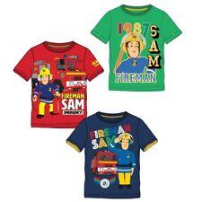 T-Shirt Unser Held | Feuerwehrmann Sam | Größe 104 - 140 | Kinder Jungen Shirt