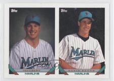 1993 Topps #641 Gavin Baugh Pat Leahy Kane County Cougars Miami Marlins RC Card