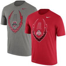 Nike Ohio State Buckeyes Mens Legend Football Icon Logo Fill Dri-FIT T-Shirt NEW