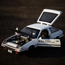 Initial D Toyota TRUENO AE86 1:28 Diecast Model Car Toy Sound&Light Xmas Gift