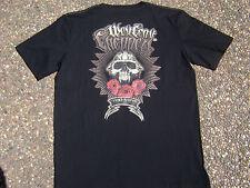 BNWT OFFICIAL WCC West Coast Choppers Skull Black MENS T-Shirt  new Medium
