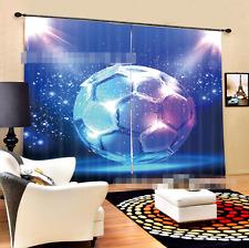 3D Glitter 040Blockout Photo Curtain Printing Curtain Drapes Fabric Window UK