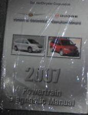 2007 Dodge CARAVAN Chrysler Town Country TRANSMISSION Diagnostic Service Manual