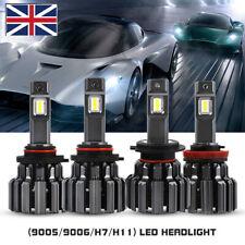 NOVSIGHT H4 H7 H11 9005 9006 LED Headlight Bulb Kit 14400LM 6000K Bright UK Ship