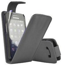 Piel Artificial Funda Protectora de Móvil con Tapa para Samsung Galaxy Ace Plus