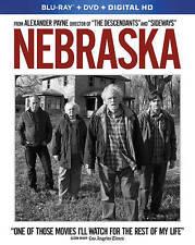 Nebraska (Blu-ray/DVD, 2014, 2-Disc Set, Includes Digital Copy) NEW#
