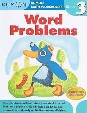 Word Problems Kumon Math Workbooks Grade 3