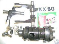 1986 KAWASAKI KX80 KX 80 TRANY SHIFT DRUM FORK FORKS