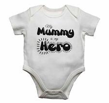 Mi mamá es mi héroe-Bebé Chalecos monos bebé crece Estampado Gráfico