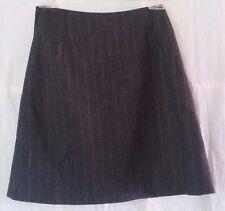 NOS Vtg. Women's Calvin Klein Mini Wrap Gray Skirt-Above Knee- 90%Wool,10% Cash