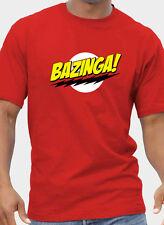 Da Uomo + Donna Big Bang Theory Bazinga Ispirato T-shirt fino a 5XL GRATIS UK POST