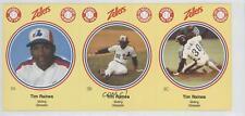 1982 Zellers Baseball Pro Tips Montreal Expos #3 Tim Raines Card