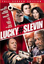 Lucky # Slevin (DVD, 2006, Full Frame Edition)