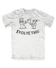 Evolve this t-shirt Darwin Gesù Paul della alieno SIMON PEGG NICK FROST Fun culto