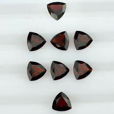 Natural Genuine Dark Red Garnet AAA Trillion Shape Loose stone (3x3mm - 10x10mm)