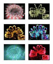 ab 3,23€/m LED Lichterschlauch 30 meter Wunschfarbe grün gelb blau warmweiß rot