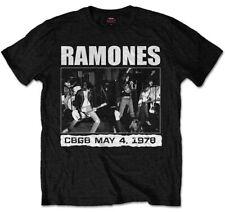 Ramones 'CBGB 1978' (Black) T-Shirt - NEW & OFFICIAL!