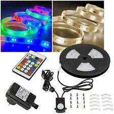 4,99€/m) OUTDOOR 5m RGB-Warmweiß DIGITAL Led Stripe IP44 Komplett-SET 230V Außen