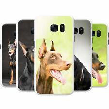 Doberman Pinscher Dog Snap-on Hard Back Case Phone Cover for Samsung Phones