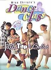 Miss Christys Dance Class: Jazz, Tap,  Ballet (DVD, 2002)