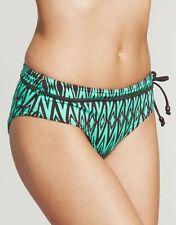 Freya Limbo Boy Short Bikini Brief Belted Amazon Green Black 3268 V Sizes NEW