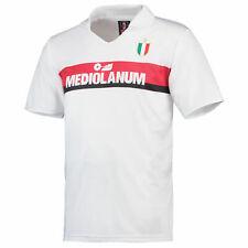 Official AC Milan 1988 Away Retro Shirt Tee Top Football Sport
