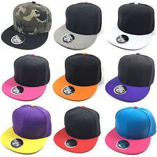 Blank Snapback Cap 2Tone TrueSpin vs Toxic Kappe 2 farbig Hip Hop camouflage