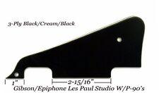 Les Paul LP Studio W/P-90's B/C/B Pickguard for Gibson Epiphone Vintage Project