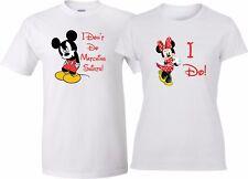 I Don't Do matching shirts I Do Mickey Minnie Funny matching couple T-Shirts