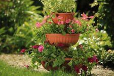 columna de flores FLORERO Fuente para plantar Grace ∅ 25cm hasta 45cm 4 COLORES