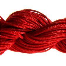 Accessoires création fil nylon 1 mm pour bracelet shamballa écheveau  24 mètres