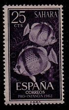 SPANISH SAHARA SCOTT# 126  MNG  FISH TOPICAL