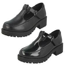 nere da ragazza cool 4 SCHOOL T-Bar opache o scarpe lucide h3069