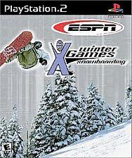 PlayStation2 ESPN Winter X-Games Snowboarding 2 VideoGames