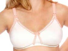 New Cream & Peach Nursing Bra Microfibre Drop Cups Breastfeeding Bravado Sugar