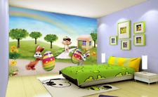 3D bambino uovo Parete Murale Foto Carta da parati immagine sfondo muro stampa