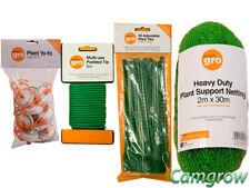 Smart gro Plant Ties, Heavy Duty Netting Plant Support & YoYo Pack