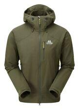 Mountain Equipment Frontier Hooded Jacket Men  Herren Softshelljacke  broadleaf