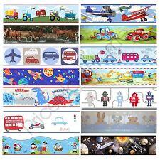 Ragazzi a tema carta da parati bordi Bambini Camera da Letto Cars, Dinosauro, lo spazio Wall Decor