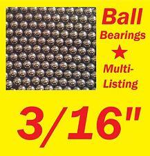 "Ball Bearings - 3/16""  (Multi Listing - you choose quantity) - Free UK P&P"