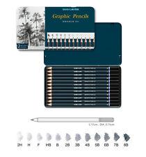 Simbalion GRAPHIC Matite Set di 12-B, 3B, 4B, 5B, 7B & 8B-STAGNO Pack-gp-12