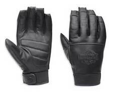 Genuine Harley-Davidson Valve Full Finger Leather Gloves