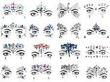 Gesichts Aufkleber Edelsteine Glitzer Steine Körper Face Tattoo Strass Steine