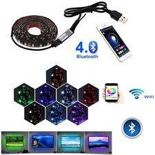 USB LED Strip light 5050 RGB Changeable LED TV Background Lighting Bluetooth 5V