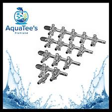 Aquarium Tank Air Pump-Flow Tube Pipe Line Stainless Control Adjustable Valve